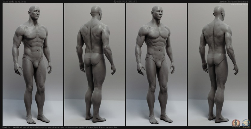 Mortal Kombat X- Base Bodies B