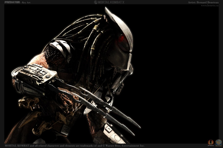 Mortal Kombat X- Predator Key Art